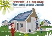 Atelier participatif sur la rénovation énergétique en Cornouaille organisé par l'Espace Info Energie de Quimper Cornouaille Développement le 7 novembre 2014