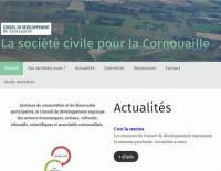 Site internet du Conseil de développement de Cornouaille