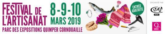 Logo Festival artisanat 2019 bannière