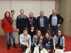 Uen idée poru mon territoire, équipe gagnante, 11/03/2019