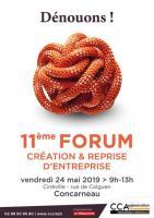 Logo Forum Création et reprise CCA