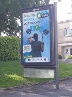 Tynéo, campagne affichage Quimper mai 2019