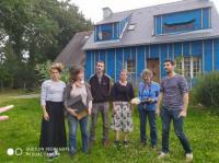 Cyclo'Trip: Réseau TYNÉO, visite de chantier