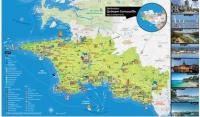 Carte Destination Quimper Cornouaille 2019