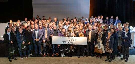 Lancement officiel des actions en faveur de l'attractivité de la Cornouaille (26 novembre 2019)