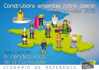 Couverture de la brochure synthétique de présentation du scénario de référence (avril 2013)