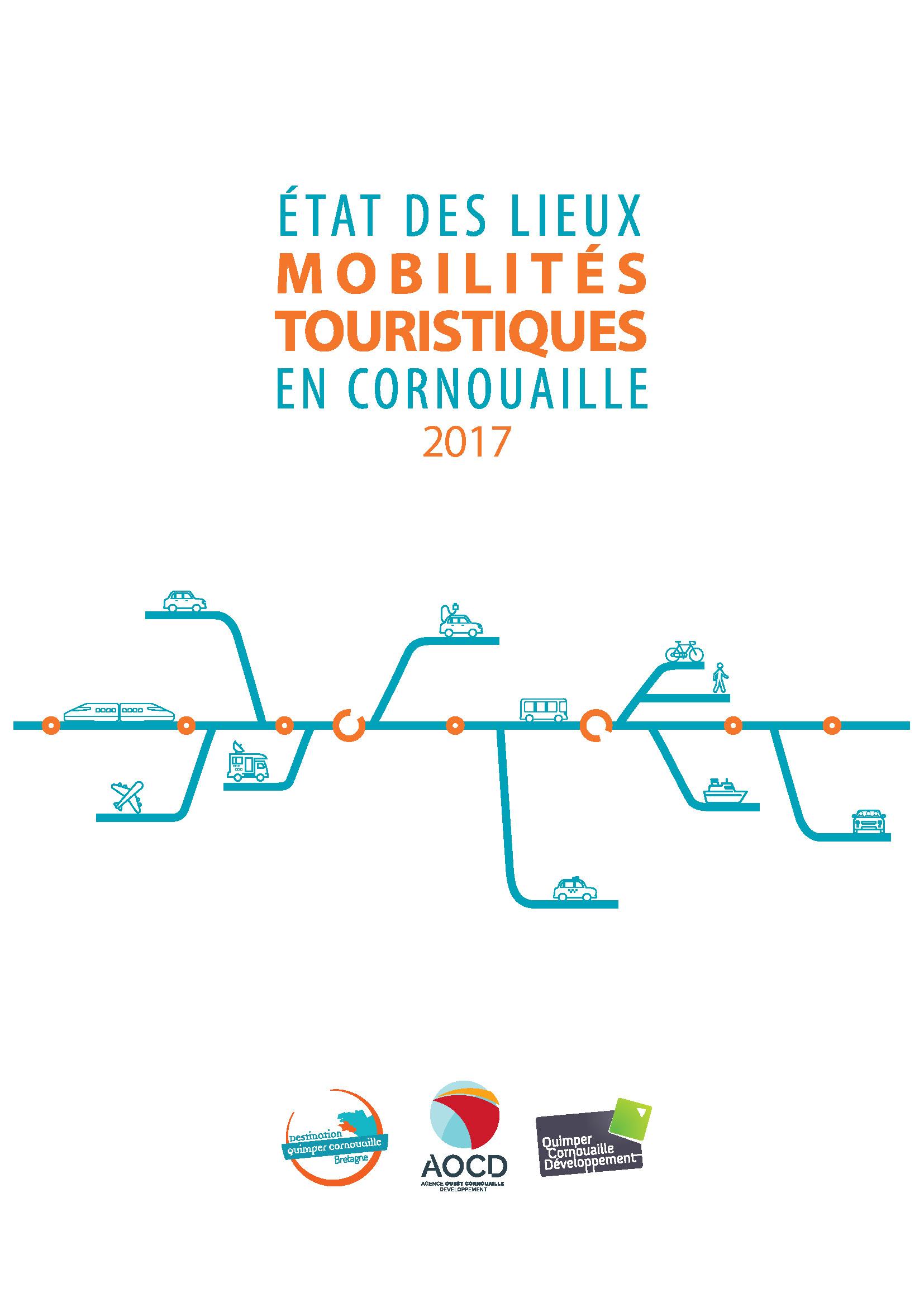 Etat des lieux. Mobilités touristiques en Cornouaille. 2017