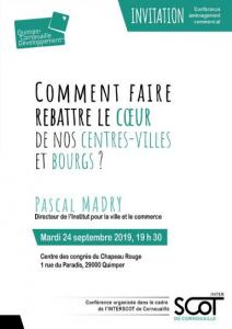Invitation conférence commercial 24/09/2019 QCD