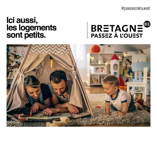 Passez à l'ouest, logements petits, Marque Bretagne 2019