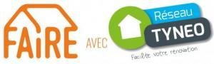 """Logo """"FAIRE avec TYNEO"""""""