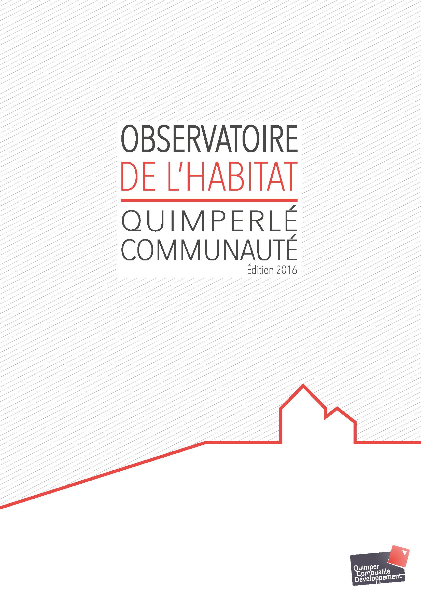 Observatoire de l'habitat CA Quimperlé Communauté - 2016