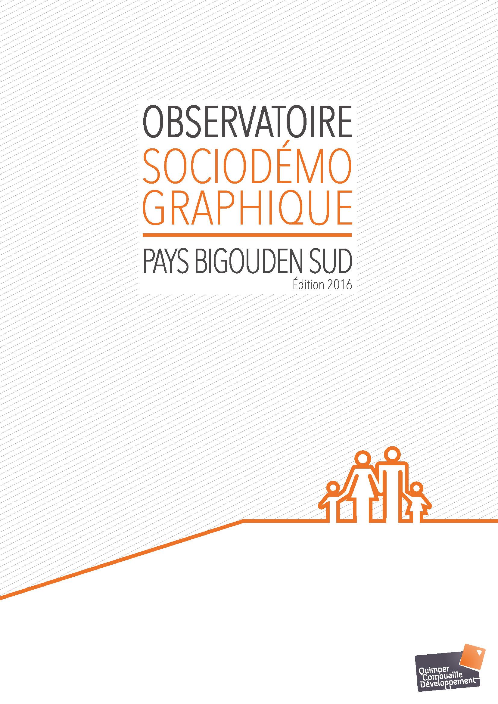 Observatoire socio-démographique Pays Bigouden Sud. Edition 2016 (11/2017)