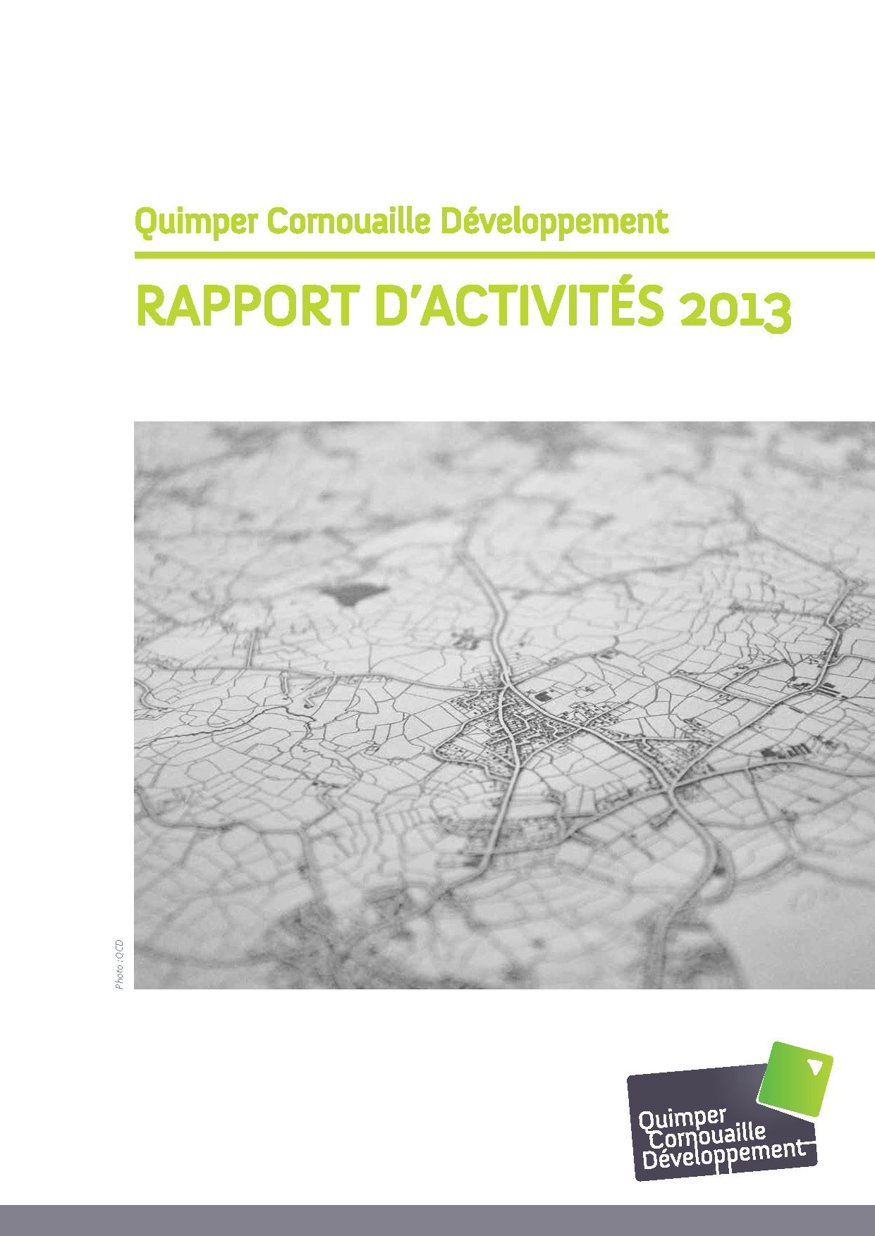 Rapport d'activités de Quimper Cornouaille Développement 2013