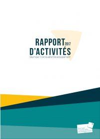 Rapport d'activités de Quimper Cornouaille Développement 2017 (approuvé en AG du 16/4/2018)