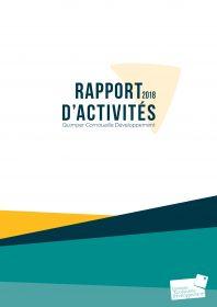 Rapport d'activités de Quimper Cornouaille Développement 2018
