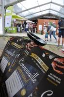 Cornouaille gourmand 2018, vue sur entrée du site avec programme CG