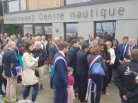 Contrat de partenariat: inauguration centre nautique Douarnenez (26/05/18)