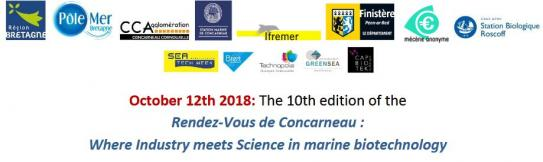 Rendez - Vous de Concarneau : Where Industry meets Science in marine biotechnology