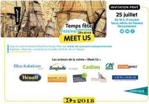 Job dating Meet Us à Temps fête organisé par Quimper Cornouaille Développement (25/7/2018)
