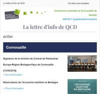 La lettre d'info de QCD
