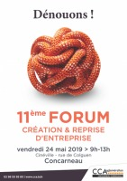 CCA Forum crétaions & reprise d'entreprises 2019