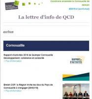Lettre d'info#4 (couverture), QCD 25/04/2019