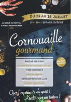 Cornouaille gourmand, affiche, juillet 2019