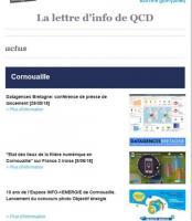 Letter d'info#6 de QCD, juin 2018