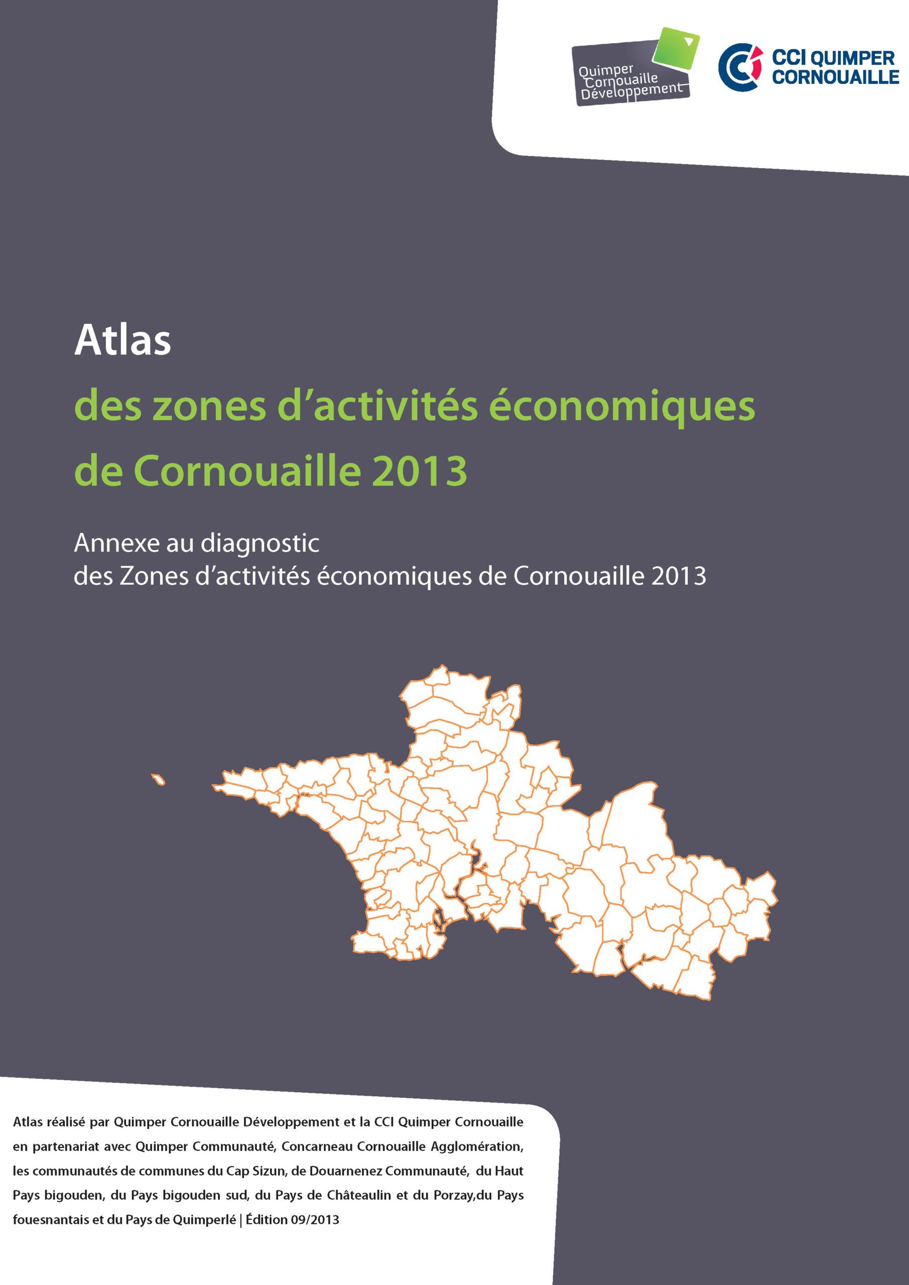 Atlas des Zones d'activités économiques de Cornouaille 2013