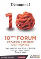 Forum création entreprise de CCA - 25 mai 2018