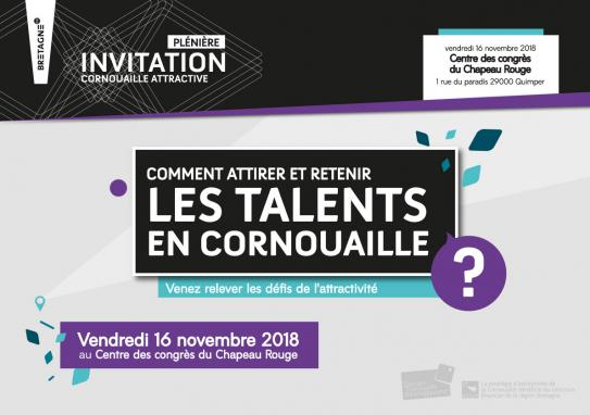 Invitation à la plénière Cornouaille attractive (16/11/2018)