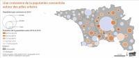 Carte population, Observatoire socio-démographique de la Cornouaille 2018, QCD 2019