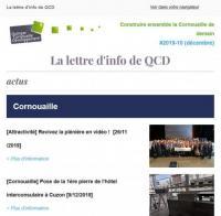 Lettre d'info de QCD #10 - 2019