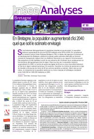 En Bretagne, la population augmenterait d'ici 2040 quel que soit le scénario envisagé (Insee Analyses n°90, nov. 2019)