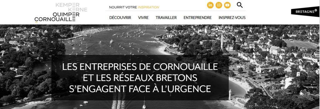 Les entreprises de Cornouaille et les réseaux bretons s'engagent face à l'urgence sanitaire du Covid-19