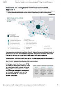 Écosystème commercial cornouaillais #1 (publication de Quimper Cornouaille Développement, 2020)