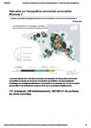 Ecosystème commercial cornouaillais, publication de Quimper Cornouaille Développement (février 2020)