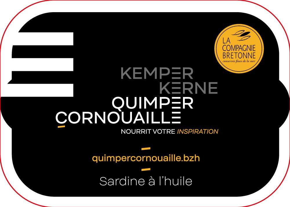 co-branding Compagnie bretonne et Quimper Cornouaille nourrit votre inspiration