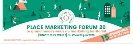 Place Marketing Forum 2020 en version digitale et live du 22 au 26 juin 2020