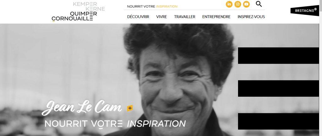 Site internet de Quimper Cornouaille nourrit votre inspiration avec les Talents qui nous inspirent