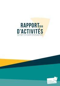 Rapport d'activités Quimper Cornouaille Développement 2019