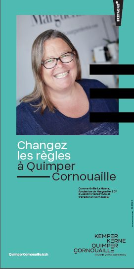 Changer les règles à Quimper Cornouaille avec  Gaële Le Noane, Talent de Quimper Cornouaille, fondatrice de Marguerite & Cie , Lesconil,@Emmanuel Pain