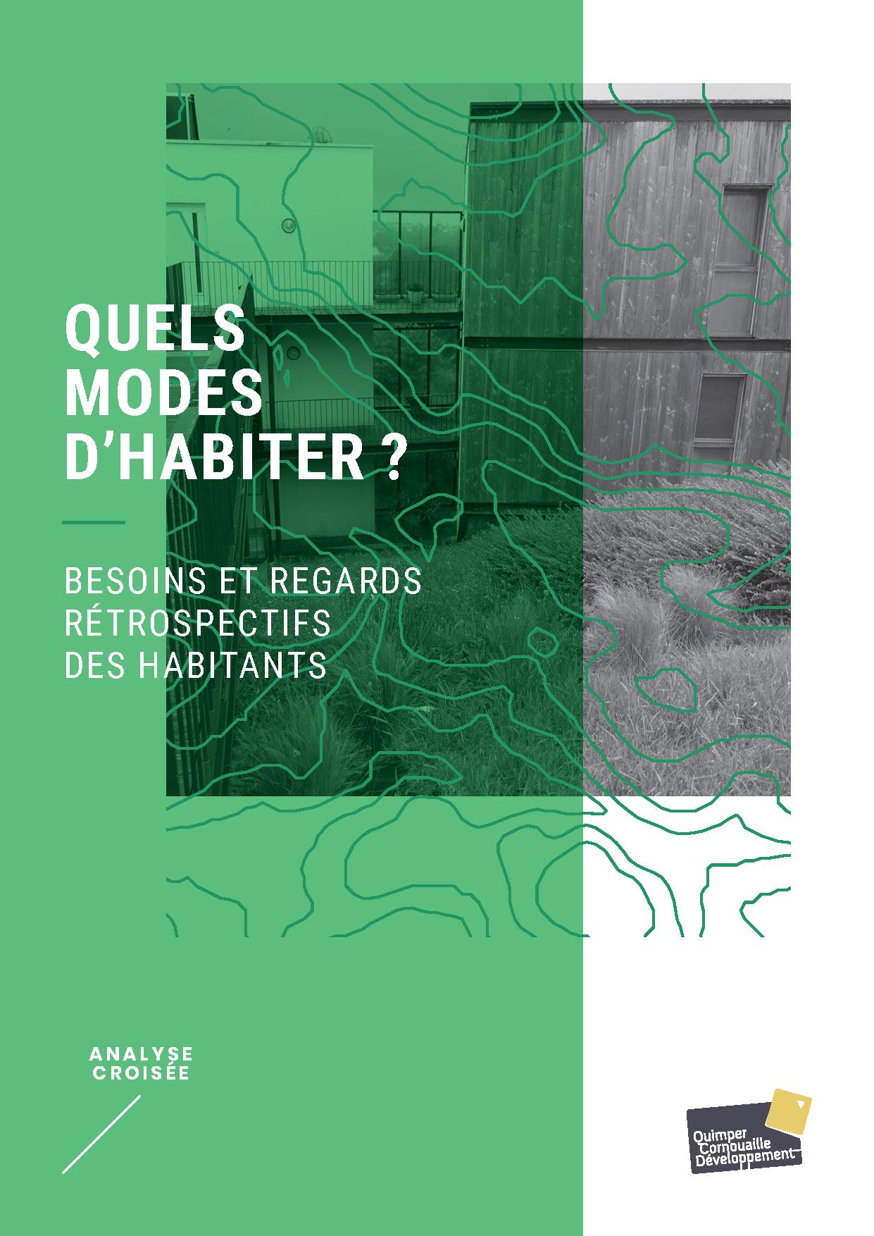 Quels modes d'habiter ? Besoins et regards rétrospectifs des habitants (étude de Quimper Cornouaille Développement, septembre 2020)