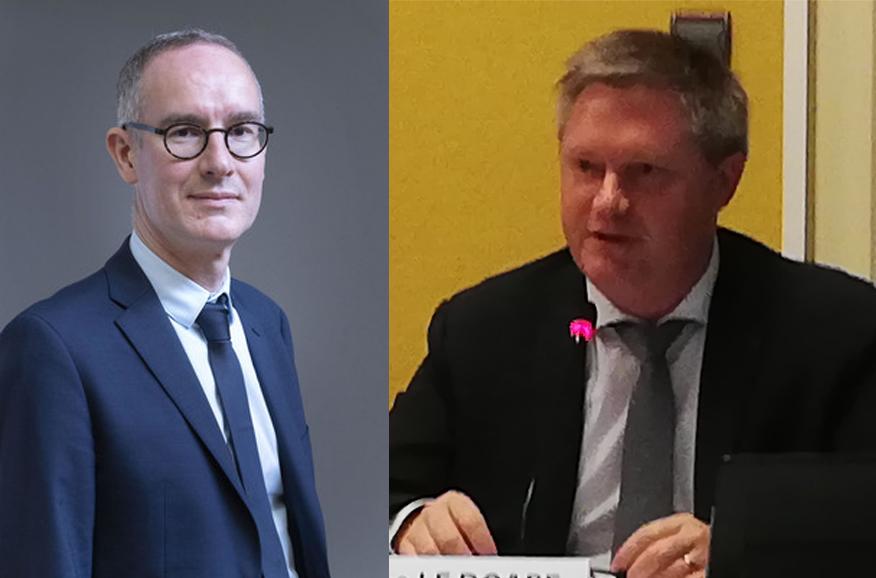 David Lesvenan et Stéphane Le Doaré, élus référents aménagement de la Cornouaille