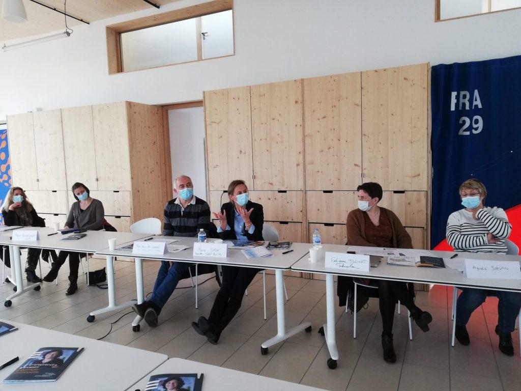 Groupe de travail attractivité Quimper Cornouaille à Finistère Mer Vent (15/12/2020)
