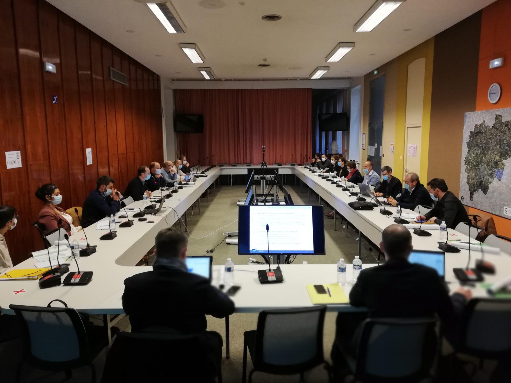 Commission aménagement de Cornouaille, 15 janvier 2021