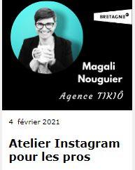 Marque Bretagne Atelier Instagram pour les pros à Quimper Cornouaille Développement