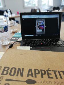 Les Dénudés à l'Atelier Marque Bretagne Instagram pour les pros, Quimper Cornouaille nourrit votre inspiration