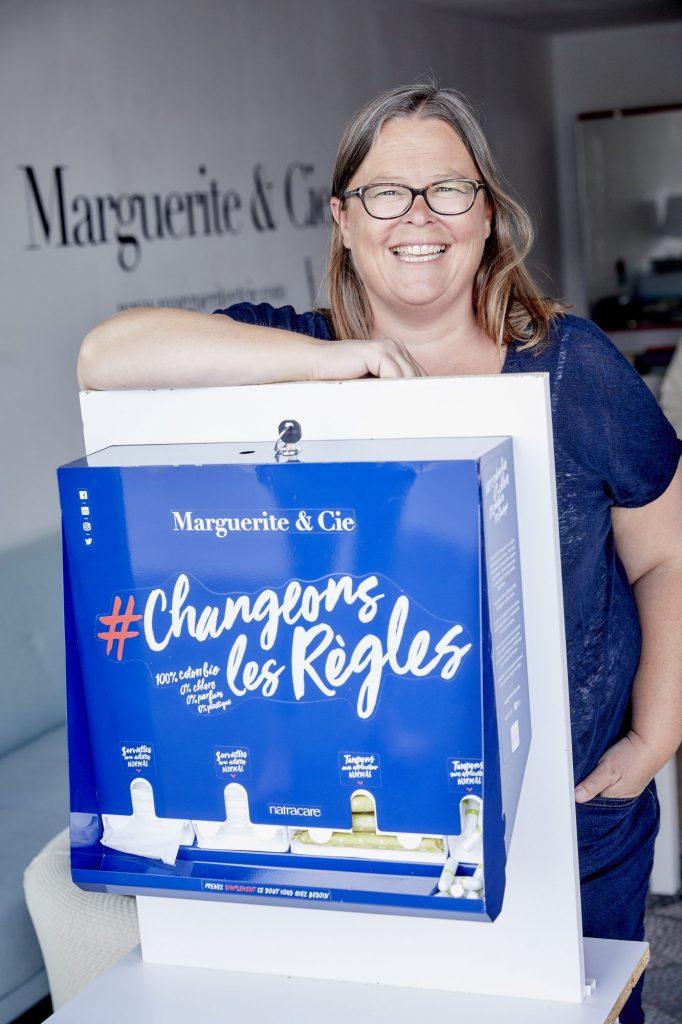 Gaële Le Noane, fondatrice de Marguerite & Cie, talent de Cornouaille @Emmanuel Pain