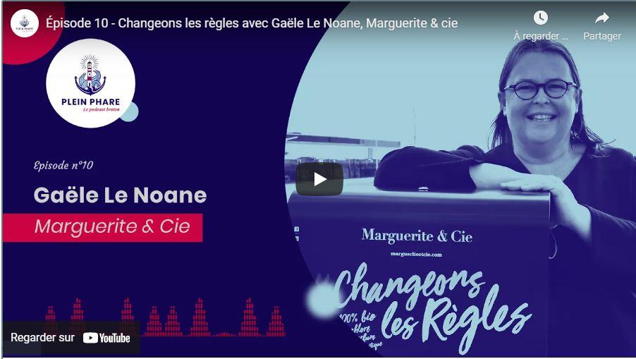 Gaële Le Noane, Talent de Quimper Cornouaille, fondatrice de Marguerite&Cie, Lesconil,